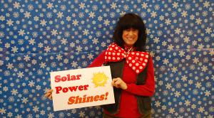 """Solar power shines!"""