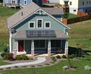 A solar home in Blacksburg, VA
