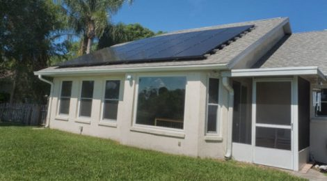 Rooftop Solar on Florida Home