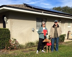 2,000th homeowner goes solar!