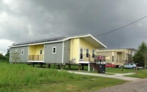 Affordable housing with solar