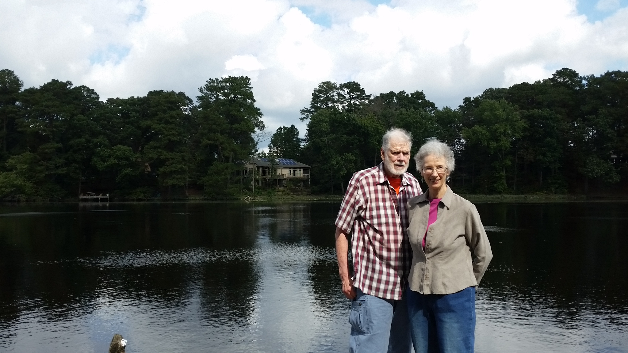 Solar Homeowners Bob & Winona Hocutt