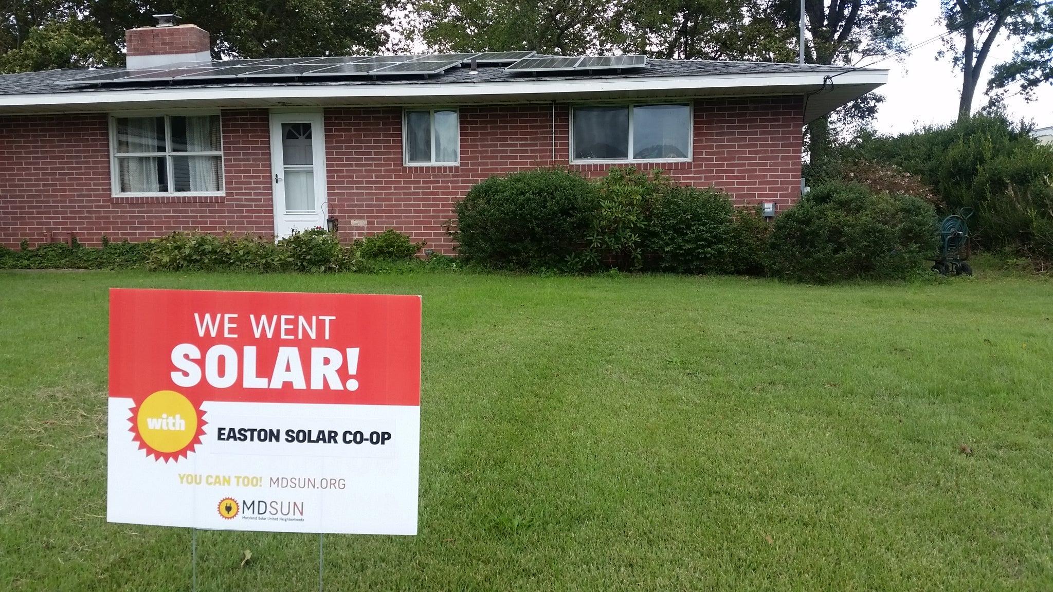 Rita Trice's solar installation