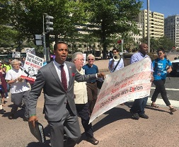 Advocates march against proposed Pepco takeover in 2016