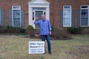 Bowie co-op member's solar open house