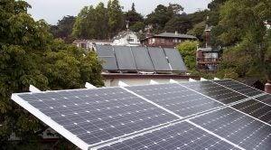 Solar power systems in California