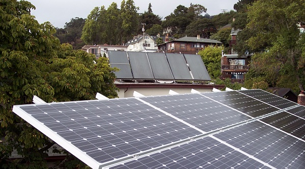 Solar power systems in California