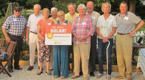 Chestertown Solar Co-op celebration (2015)