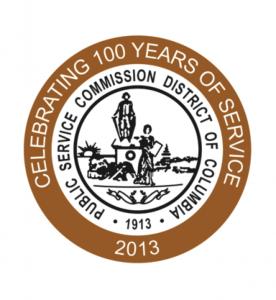 District of Columbia Public Service Commission Logo