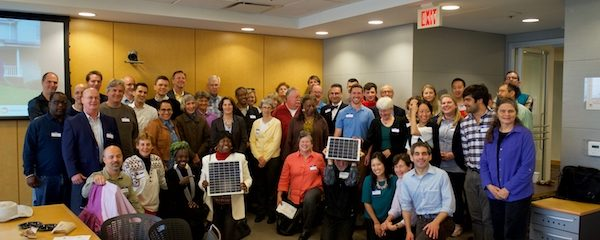 Group of solar supporters come together at solar congress