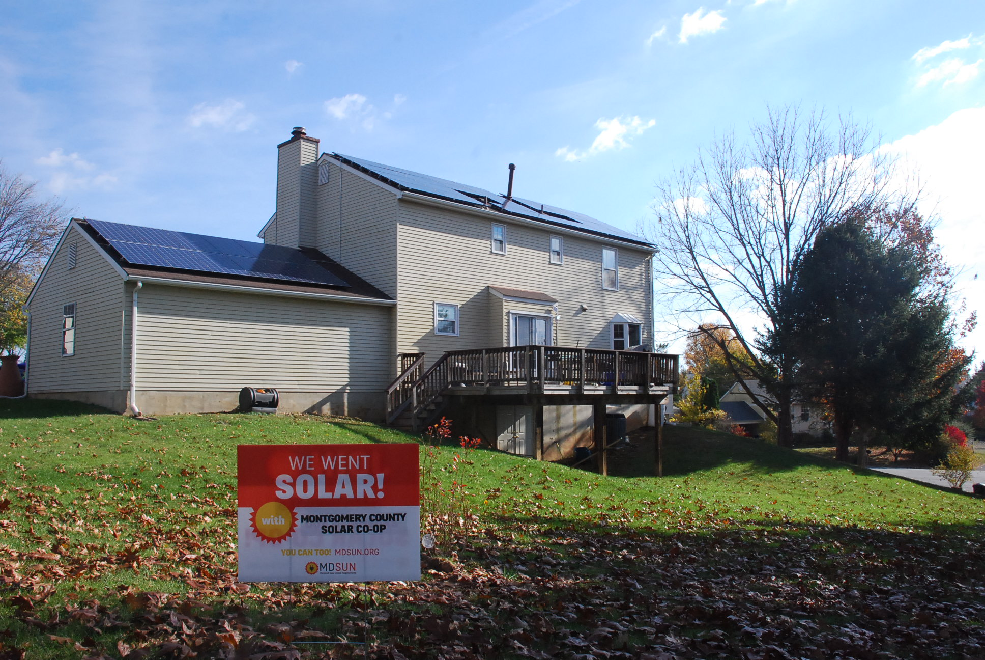 Tom Greenwell's solar isntallation