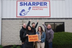 Sharper Impressions Painting Went Solar. Solar energy for your business