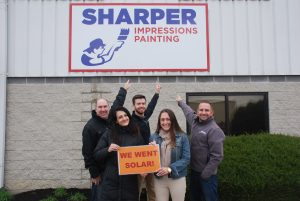 Sharper Impressions Painting Goes Solar