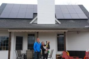 Solar Co-op Family
