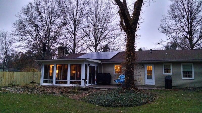 Eugene Matthews home
