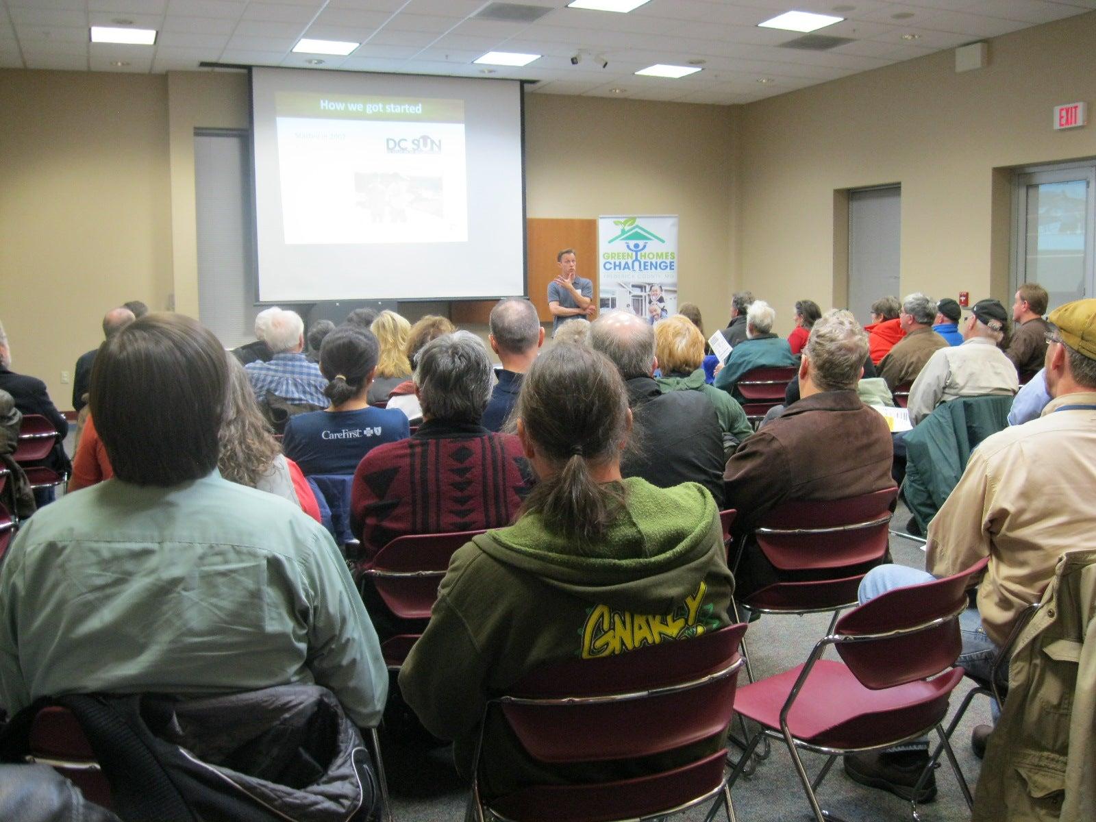 Frederick solar info session