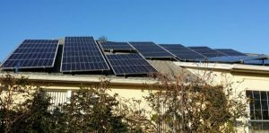 Florida Home with solar panels
