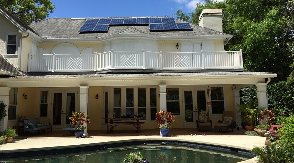 Florida Solar Home with pool