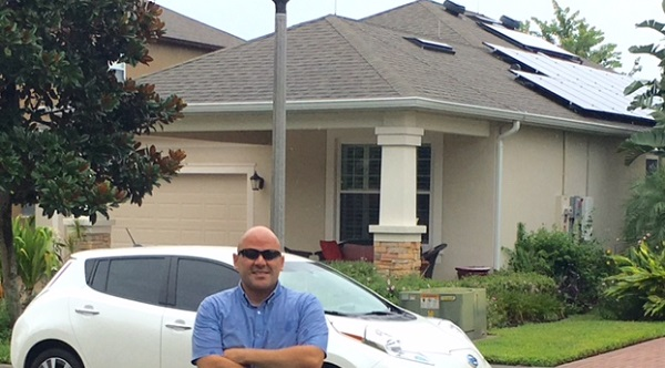 Florida solar power home owner