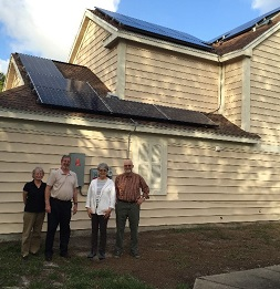 Florida's First Solar Co-op organizers