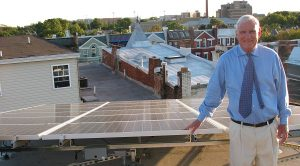 Solar United Neighbors of DC member Fred Sullivan with his system
