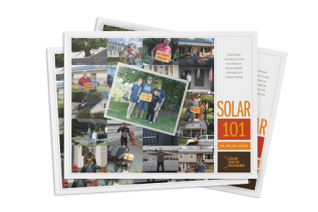 "Go Solar Guide Promo. Download your free ""how to go solar"" guide, solar panels"