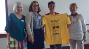 Volusia County Solar Co-op members show support for solar.