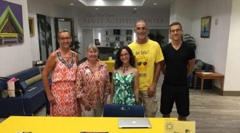 Solar Co-op Team in Florida