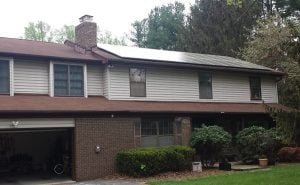 15 kW system on the Kellogg residence