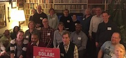 MD Solar Supporters House Party