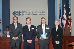 MWCOG Climate and Energy Leadership Award in 2015