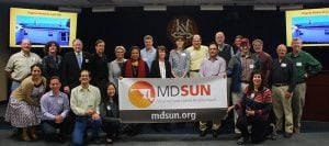 Maryland SUN Community Event with Banner