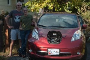 Rooftop solar and electric vehicles are a great combination.