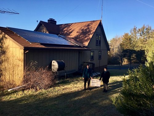 The Noldes host a solar open house after going solar with the co-op