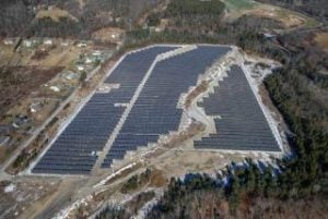 Palmer Airfield is a Massachusetts brownfield that has been converted to a solar power project