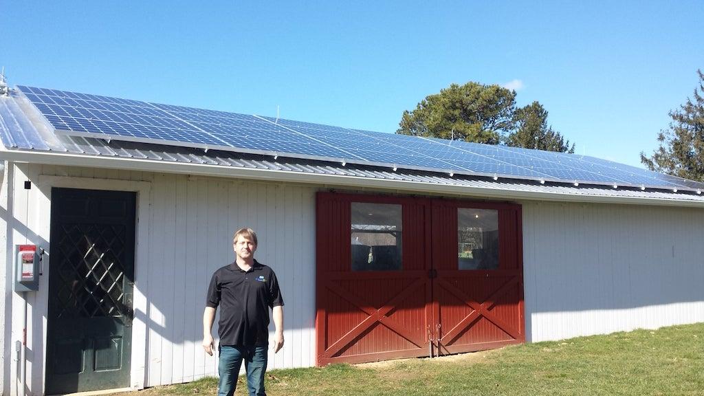 The Martin Family's solar installation