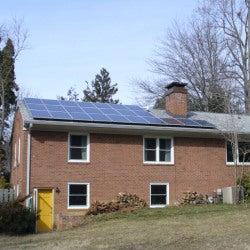 Shenandoah solar home