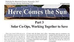 Solar Co-op News Clip