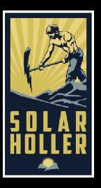 Solar Holler logo