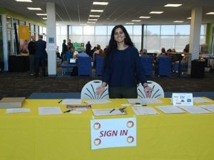 Solar Information Session Welcome Table