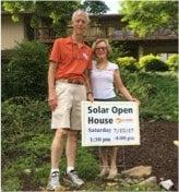 Solar Open House couple