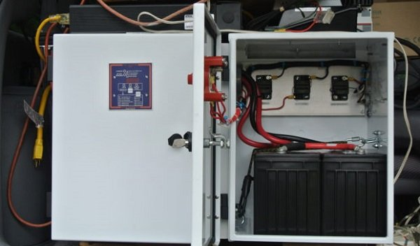 Solar Storage Battery Example