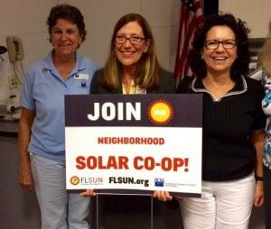 Spacecoast Solar Information Session Participants