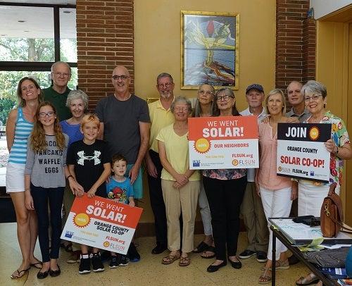UU of Orlando members that went solar