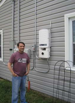 West Virginia solar customer