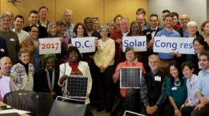Attendees of the 2017 D.C. Solar Congress