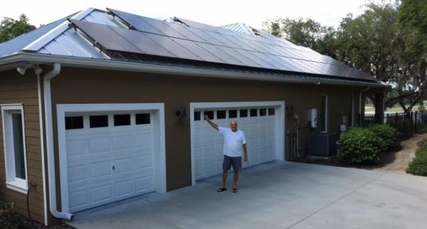 Florida solar homeowner