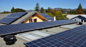 Residential solar panels in Maryland