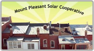 Mt. Pleasant Solar Co-op yard sign