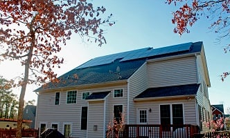A Richmond Community Solar Co-op installation